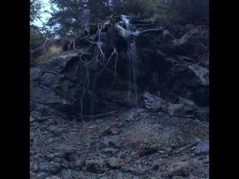 Calming Waterfall, Stillpoint Lodge, Halibut Cove, Kachemak Bay State Park, Alaska