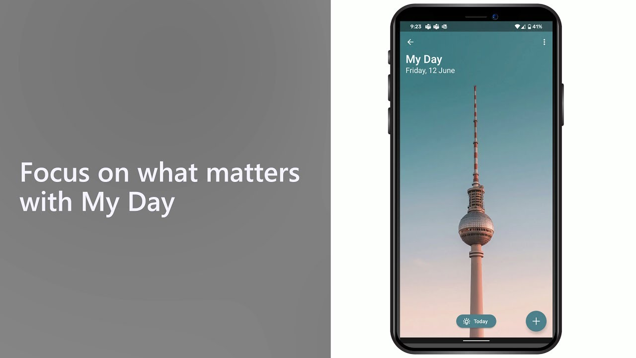Focus on what matters with My Day in Microsoft To Do