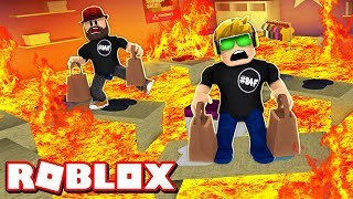 ROBLOX ESCAPE THE MALL OBBY!! EVIL MANAGER GONE MAD!!!