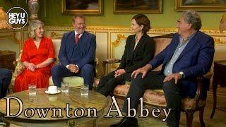 Hugh Bonneville, Jim Carter, Elizabeth McGovern, & Phyllis Logan on Downton Abbey Movie
