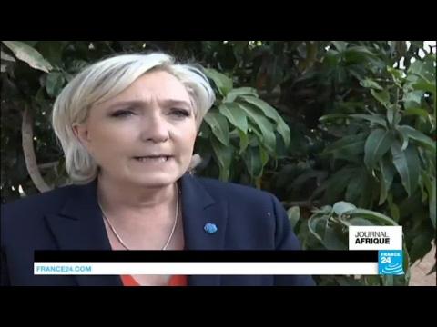 Tchad : Marine Le Pen s'est entretenue avec Déby