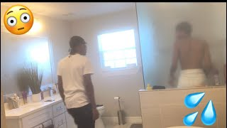 CAUGHT IN THE SHOWER WITH YOUR BROTHER PRANK !!!