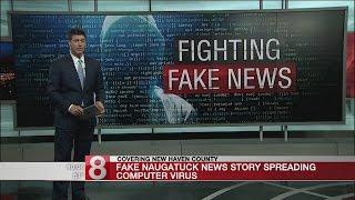 Naugatuck Police warn of fake news scam