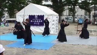 木曽川町一豊まつり 2013 (新心流居合術)