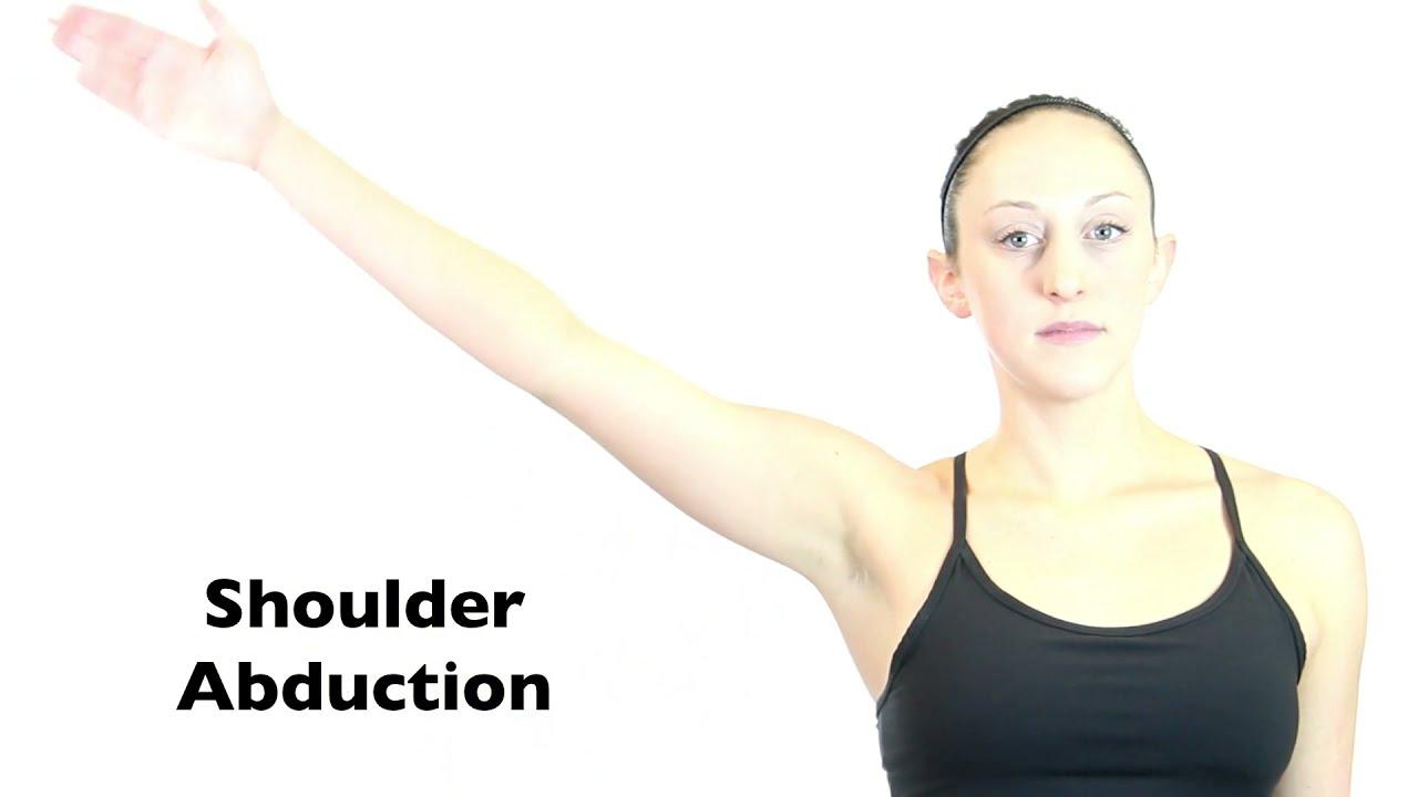 Shoulder Abduction - YouTube