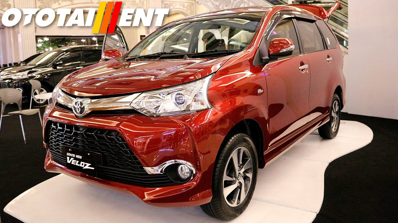 grand all new avanza 2016 type e first look and veloz terbaru di