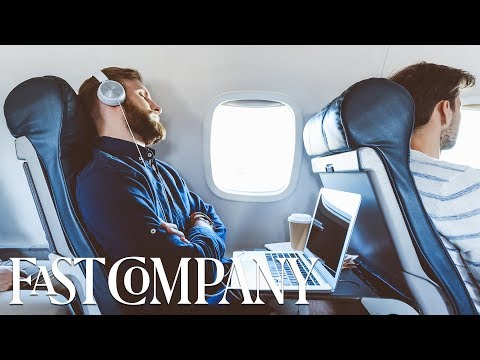 Why you should prioritize work over sleep while you're flying | Fast Company