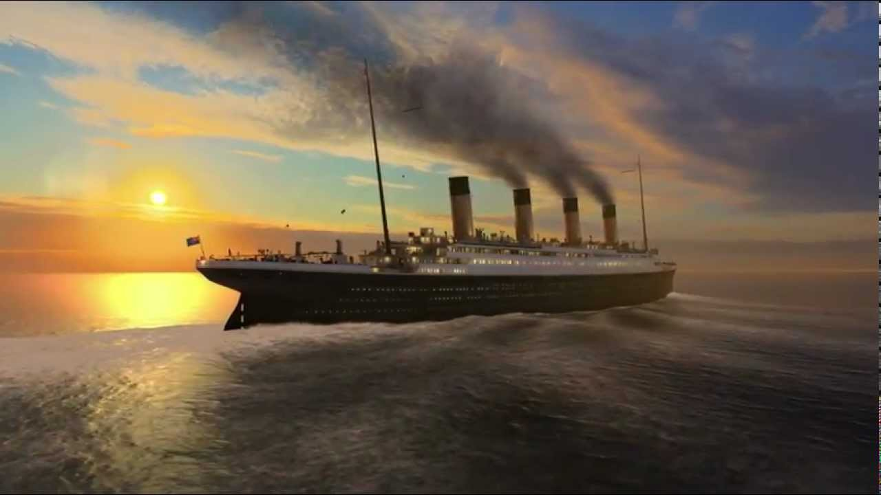 3d Wallpaper Of Titanic Titanic Memories 3d Screensaver Youtube