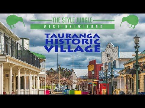 New Zealand /// Tauranga Historic Village /// Историческая деревня в Тауранге