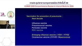 ประชุมวิชาการอายุรศาสตร์ประจำปี ครั้งที่ 39 วันที่ 20 Inflขenza vaccination in covid-19 era