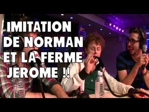 Imitation de Norman  et la ferme jerôme ! Guillaume radio 2.0