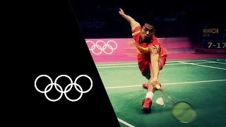 Lin Dan Makes Badminton History | Olympic Records