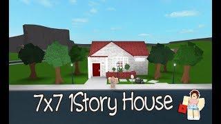 ROBLOX │Bloxburg - [SpeedBuild] 7x7 1Story House