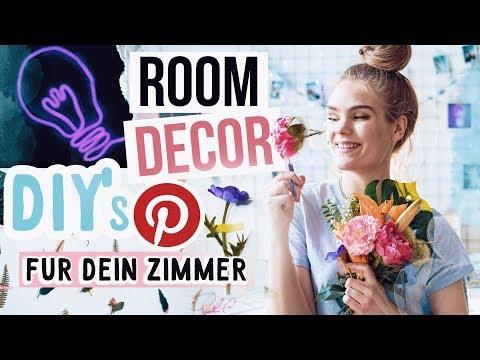 3 ROOM DECOR DIY's für dein Zimmer - Pinterest Inspired // I'mJette