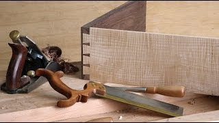 How To Make A Half-blind Dovetail Joint