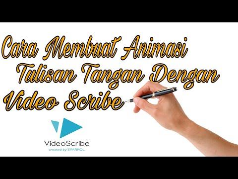 Cara Membuat Tulisan Animasi Tangan Dan Free Download Software Video Scribe