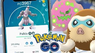 MAXEANDO A PALKIA + SUBIENDO POKES PARA PVP!! | 1080 | POKEMON GO
