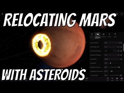 Can We Move Mars Closer to Earth By Smacking Asteroids Into It?