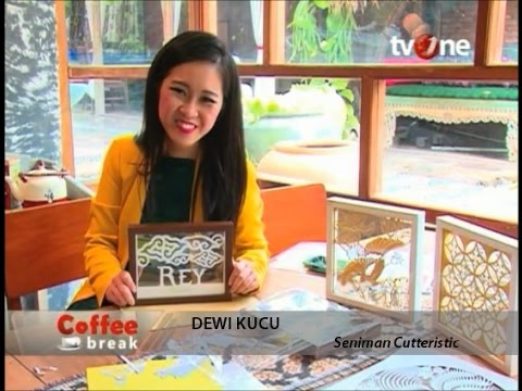 Papercraft Paper Cutting Indonesia - TV One February 2016
