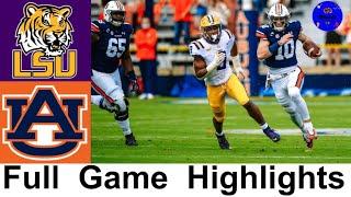 LSU vs <b>Auburn</b> Highlights | College <b>Football</b> Week 9 | 2020 College ...