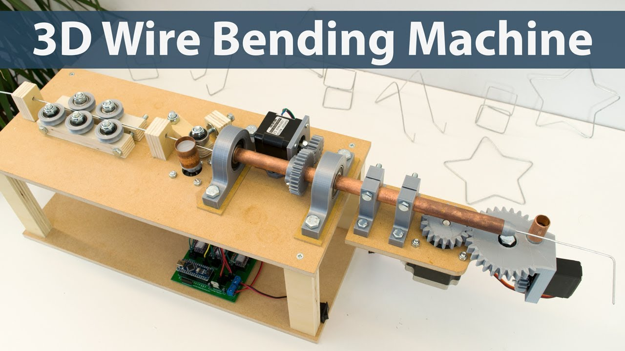 arduino 3d wire bending machine - youtube  youtube