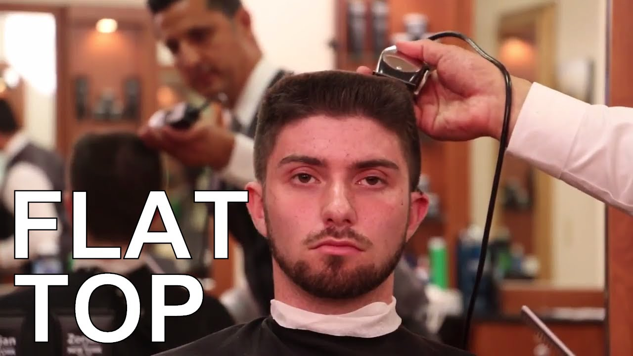 How To Cut And Style Flat Top Greg Zorian Haircut Tutorial Youtube