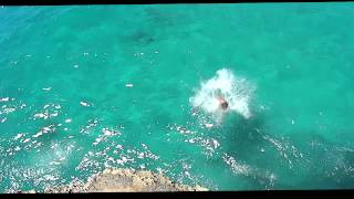 Cliff Jumping in Majorca (HD)