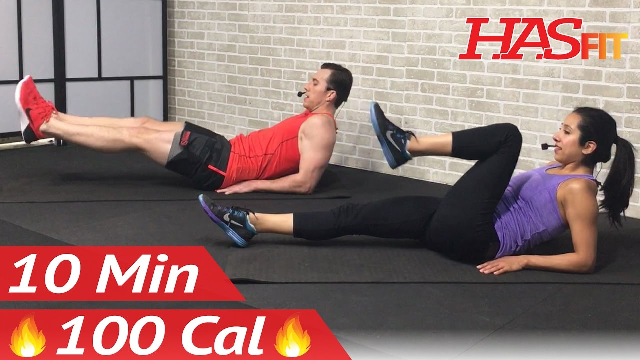 10 Min Lower Ab Workout for Women & Men Created by Hasfit