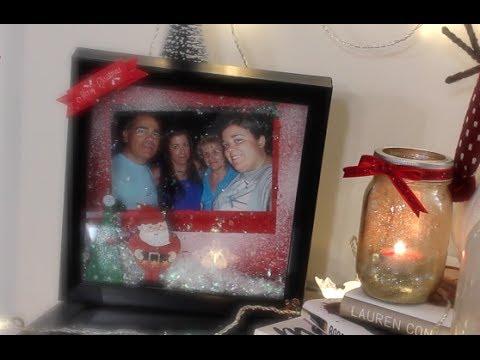 DIY Christmas Family Portrait (Marco de Fotos Navideño)