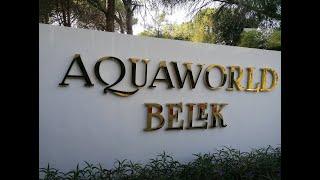 Aquaworld Belek by MP Hotels 5 Турция октябрь ноябрь 2020 Белек Отличный отдых осенью