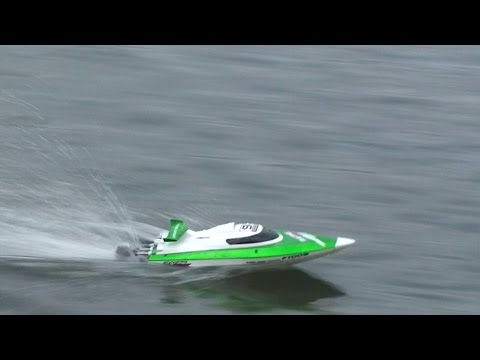 Feilun - FT009 High Speed RC Boat - Review and Maiden Run