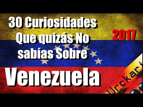30 Curiosidades que Quizás no Sabías sobre Venezuela