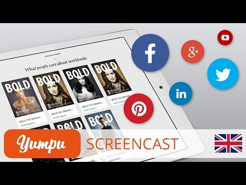 Screencast - How do I connect my social media channels with my WEBKiosk?