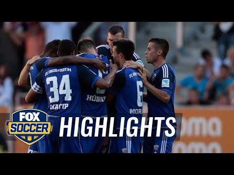 Leckie gives Ingolstadt 1-0 lead over Augsburg - 2015–16 Bundesliga Highlights