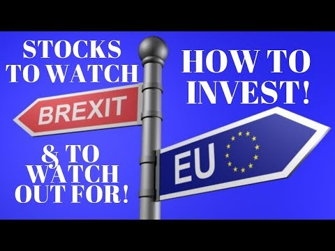 How to invest with Brexit - UK and EU stock market