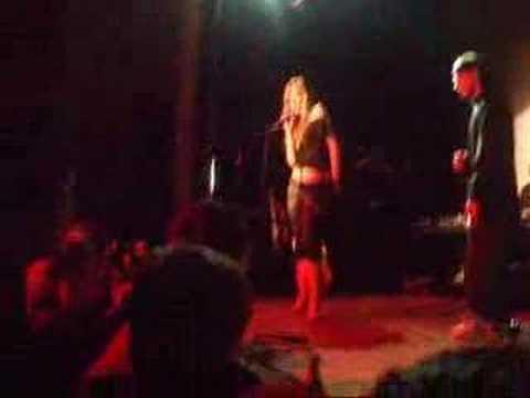 Ben Mansfield & Megan B rapping/singing