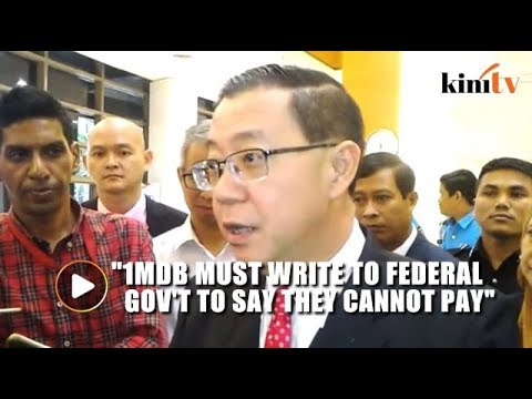 Guan Eng refuses to sign document to settle 1MDB's debt