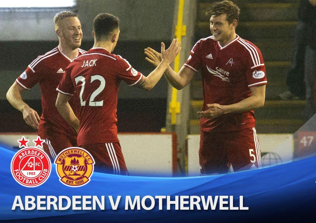 Aberdeen 2-1 Motherwell