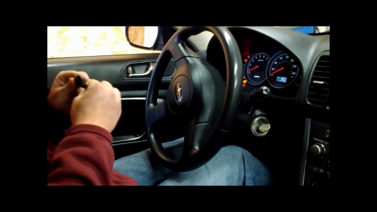 Keyless Door Entry >> How to Program Your Newer Subaru Keyless Entry Fob/ Remote - YouTube