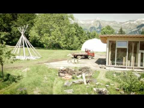 Permaculture @ Schweibenalp, Switzerland 2015 Imagefilm English