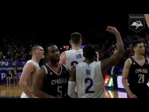 Men's Basketball Vs Omaha Highlights (01.26.2019)