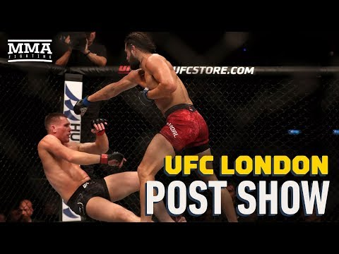 UFC London Post-Fight Show - MMA Fighting