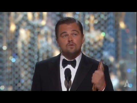 Leo's Om Shanti Om Speech