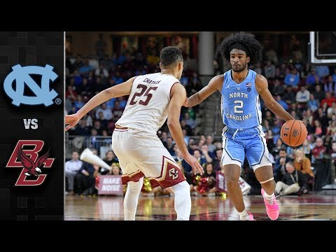 North Carolina Vs. Boston College Basketball Highlights (2018-19)