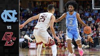 North Carolina vs. Boston College Basketball Highlights (2018-19)