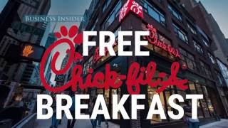 How to get a free Chick-fil-A breakfast