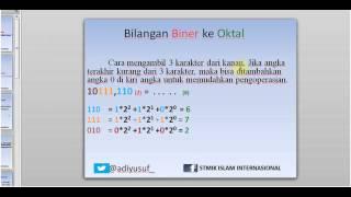 Tutorial OGB : Konversi Bilangan Biner ke Desimal Oktal dan Hexadesimal