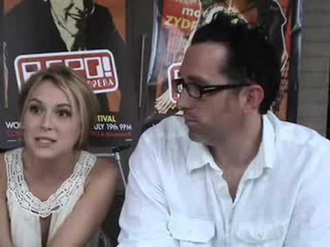Darren Lynn Bousman et Alexa Vega à Montréal pour la premièr