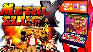 Metal Slug X Full Playthrough on a Neo Geo 161 in 1 MultiCart on MVS Hardware - Retro GP