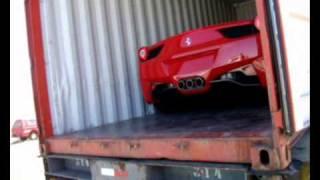 Ferrari 458 Italia recem chegada em Brasília